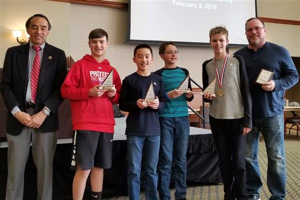 Students Win South Jersey Math Competition