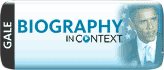 Biography in Context offers authoritative reference content alongside magazine and journal articles, primary sources, videos, audio podcasts, and images. Covering a vast array of people from historica