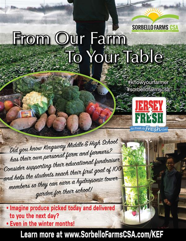 <font color=#BE1E2D><b>Sorbello Farms supporting KEF </b></font>