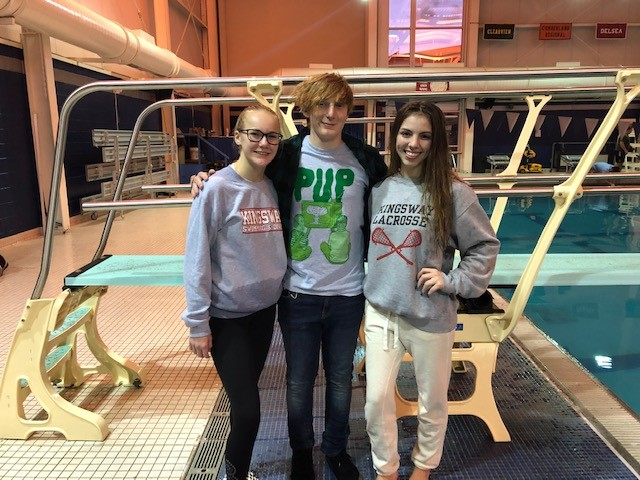 Congratulations to members of KRHS Dive Team