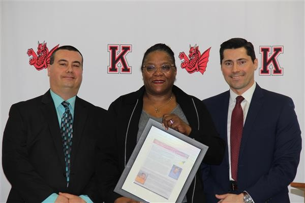 Kingsway recognizes Spotlight Teacher & Support Staff