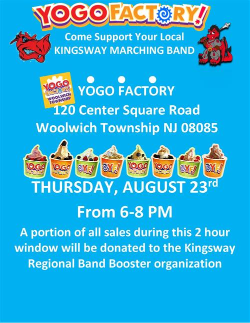 Support Kingsway Marching Band