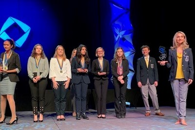 Kingsway Student Advances to DECA International Competition