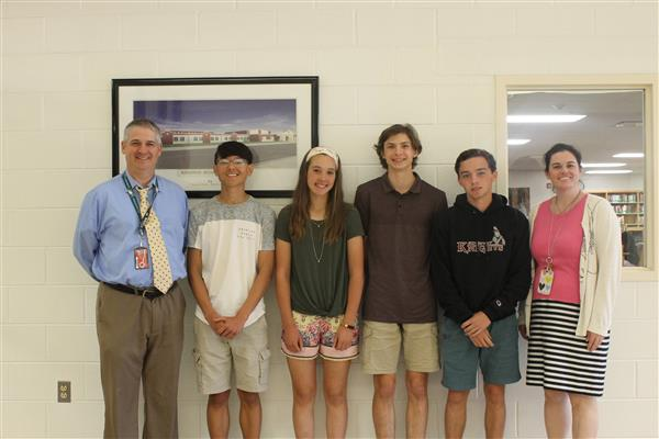 Spotlight Students for May 2018