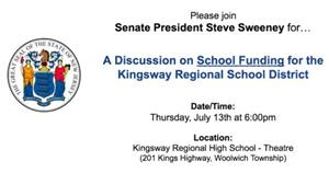 <font color=#BE1E2D><b>Discussion on School Funding </b></font>