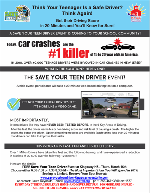 Save Your Teen Driver